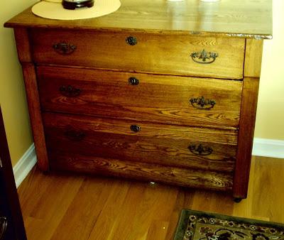 Refinishing Dresser