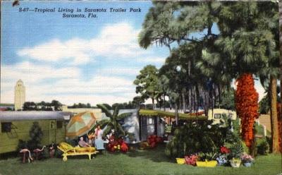 Sarasota, Florida Vintage Postcard