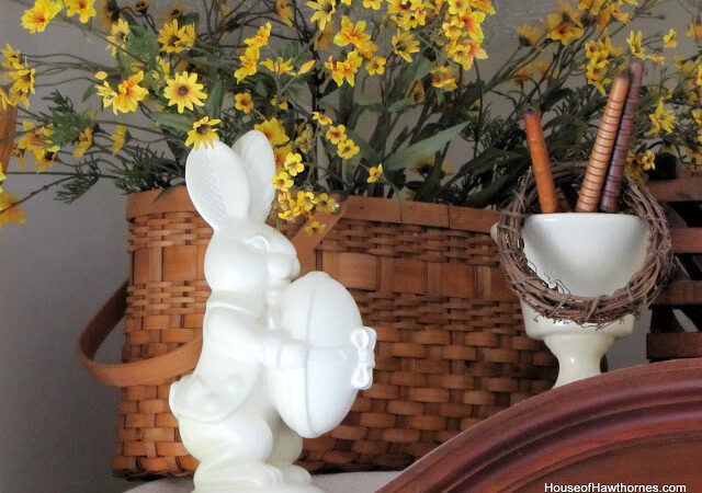 Easter Decor Recap