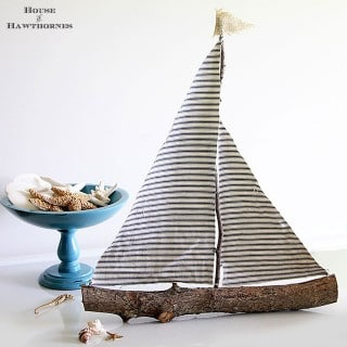 Make A Rustic Sailboat