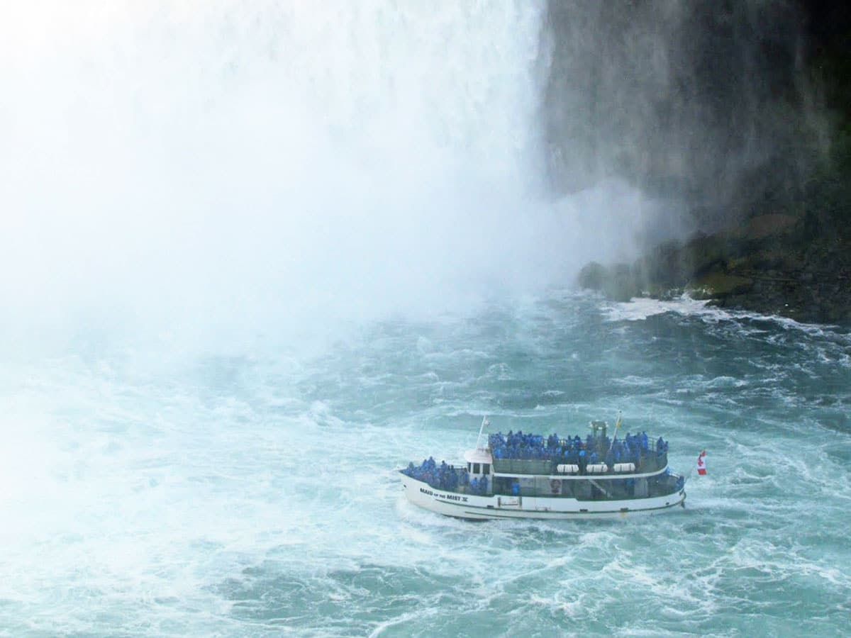 Maid Of The Mist, a boat tour at Niagara Falls