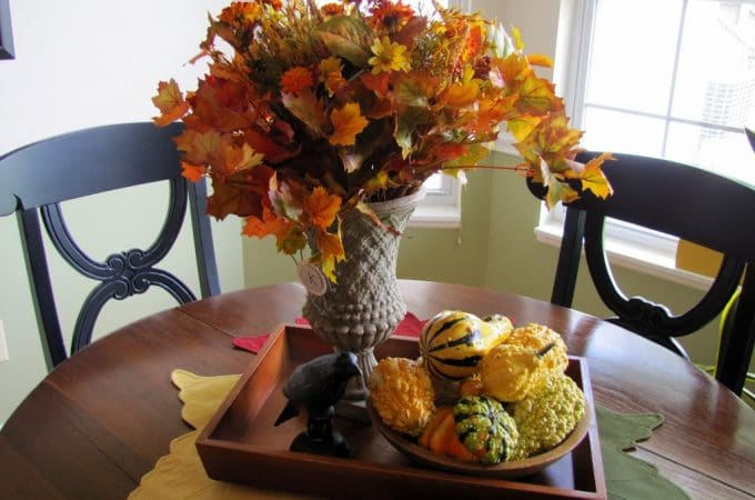 A Fall Dining Tablescape