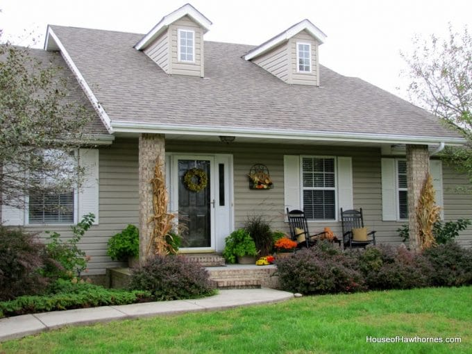 Porch Decor For Fall House Of Hawthornes