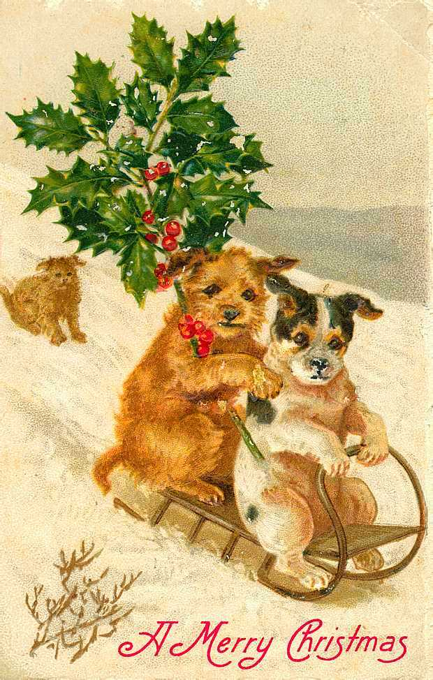 Vintage Christmas Cards - House of Hawthornes