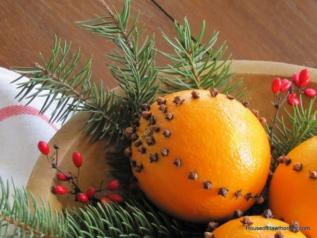 how to make cloved oranges aka a pomander a simple inexpensive way to add - Christmas Oranges