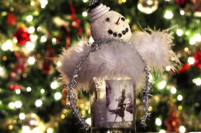 Bottled Up Snowman