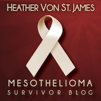 Heather Von St. James - Mesothelioma Survivor Blog