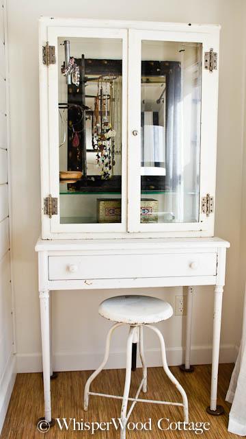 vintage medical cabinets