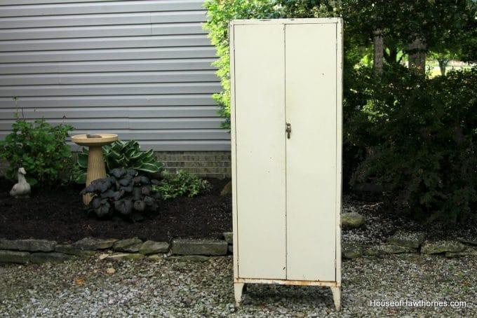 Vintage Metal Medical Cabinet Uk Biji Us