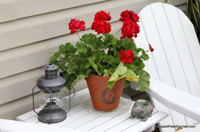 Nautical Flower Pots