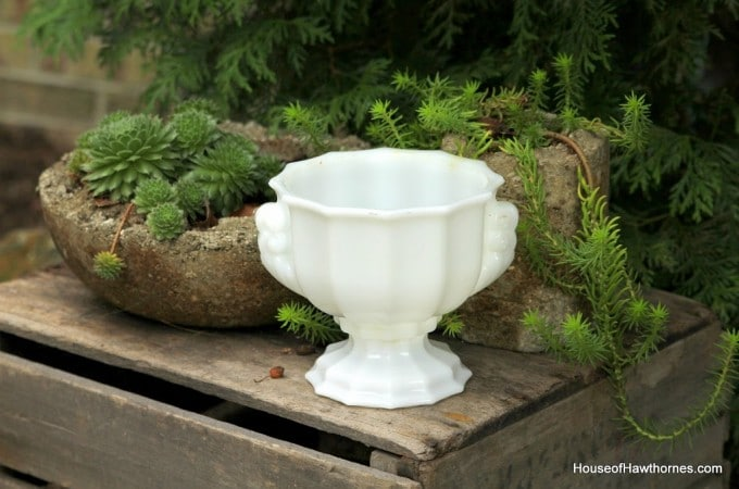 Milk Glass At Home