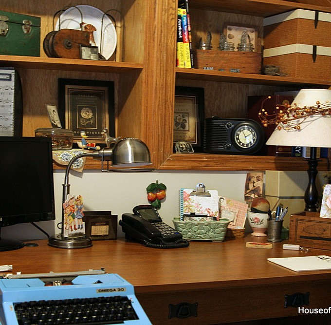 A Vintage Thrifty Office