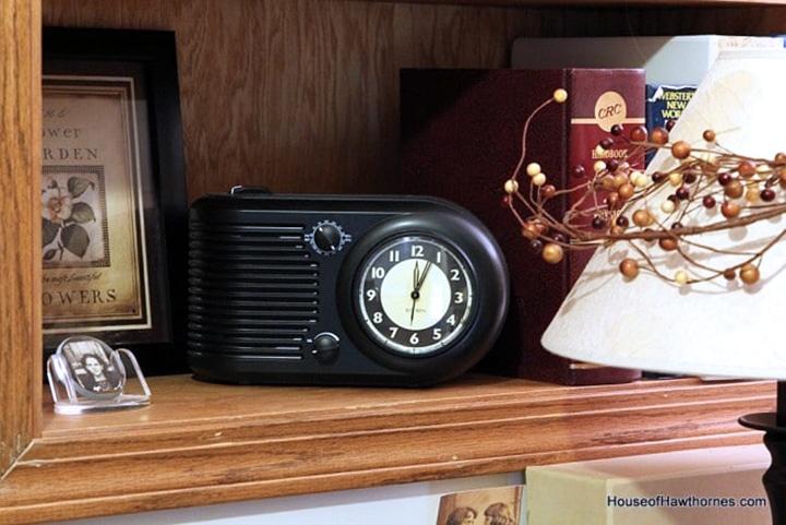 Reproduction vintage style radio.