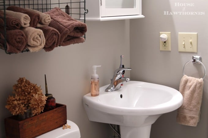 Industrial Style Child's Bathroom