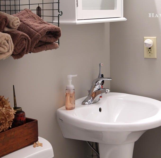 Industrial Style Child's Bathroom