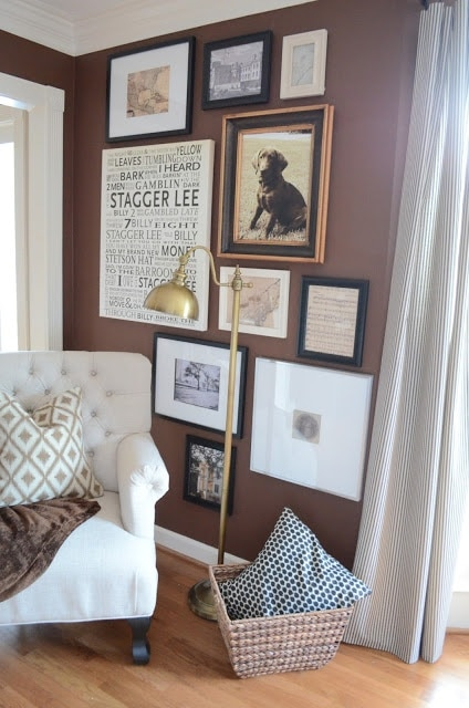 Superb The Houston House did one with a nice mix of objects that had significant meaning to her family I really liked this idea