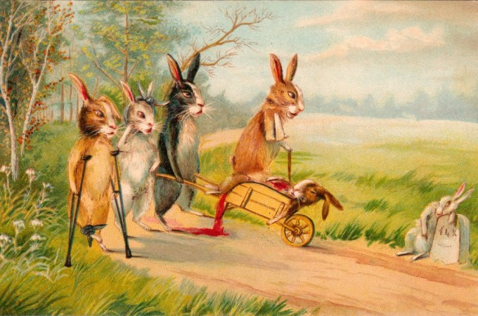 Mutilated Bunnies And Other Easter Whimsy