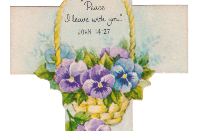 Vintage Easter Cross Printables