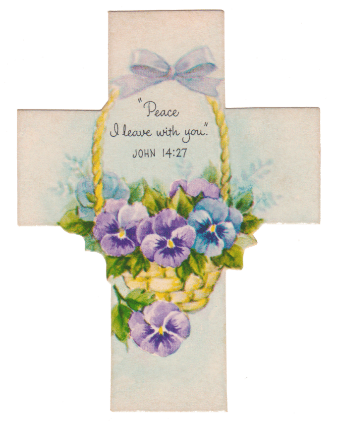 Vintage Easter Cross Printables - House of Hawthornes
