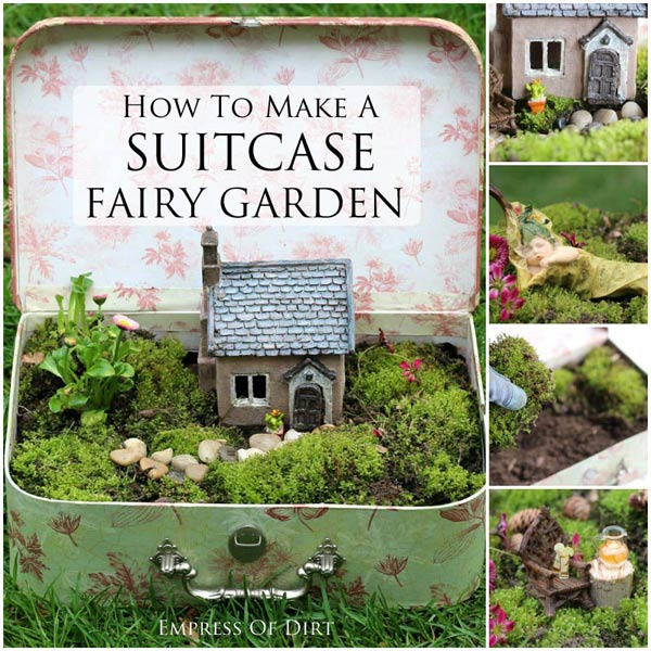 20 whimsical diy miniature fairy garden ideas house of for How to make miniature garden furniture