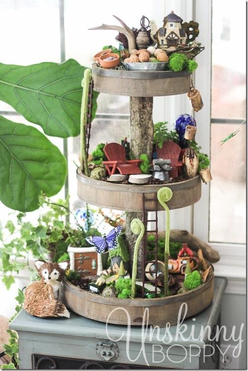 20 Whimsical DIY Miniature Fairy Garden Ideas - House of Hawthornes