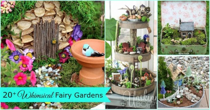 20 whimsical diy miniature fairy garden ideas house of hawthornes - Diy Fairy Garden