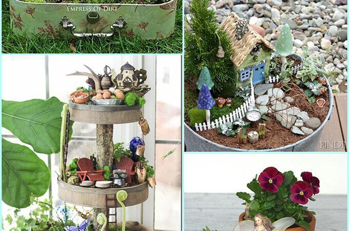 20 Whimsical DIY Miniature Fairy Garden Ideas
