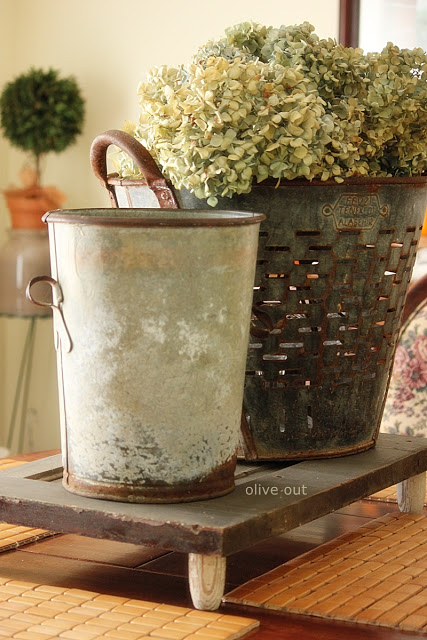 Olive bucket from Olive Out