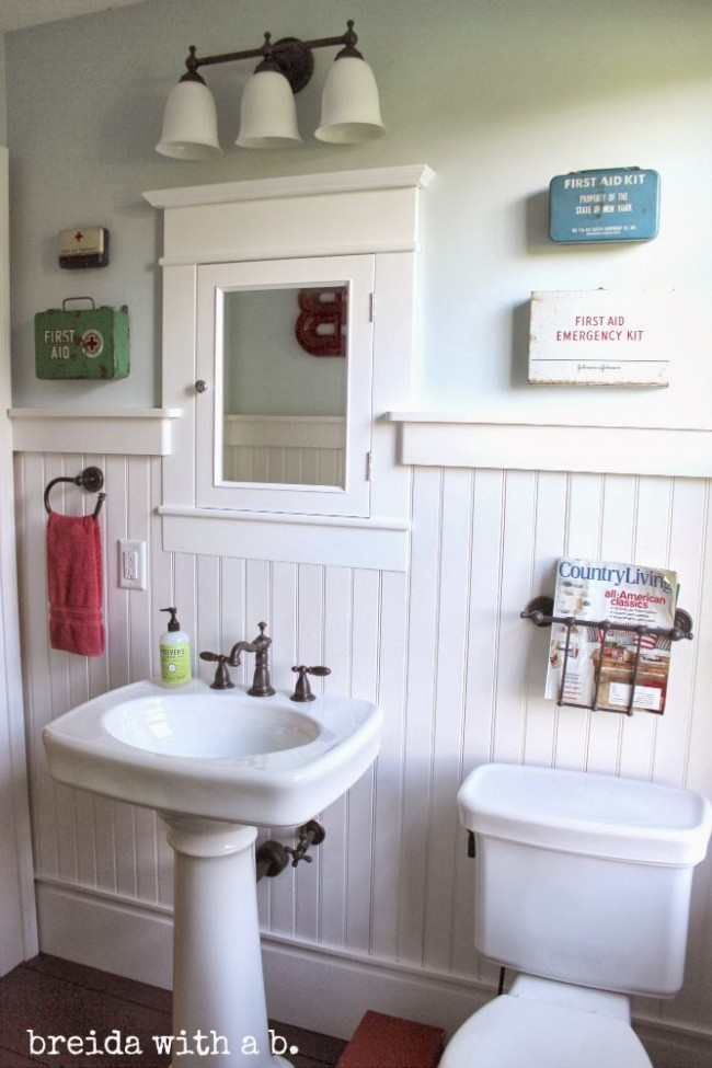 Bathroom Makeover Kit vintage first aid kit part ii - house of hawthornes
