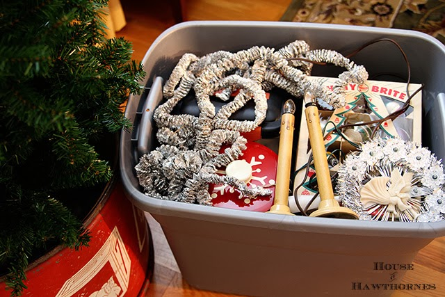 Vintage Christmas in a box