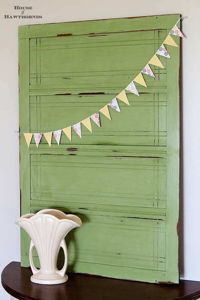 American Paint Company chalk paint in Nana's Cupboard green