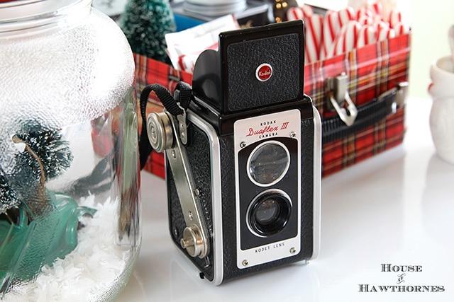 Vintage Kodak Duaflex III camera
