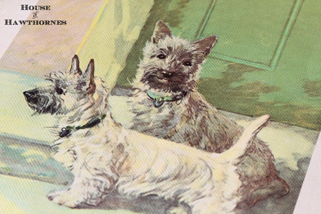 Vintage children's book on dogs