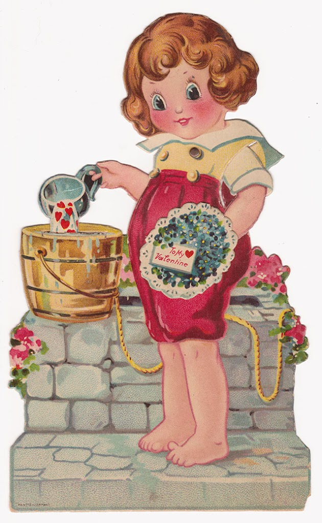 Vintage valentines to print out for your crafts