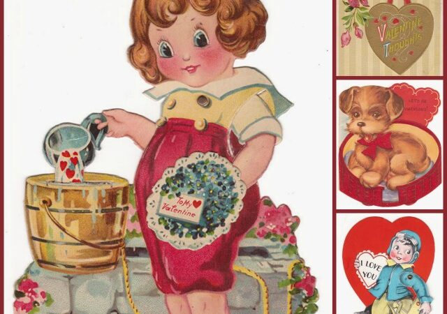 Vintage Valentines Printables 4 U