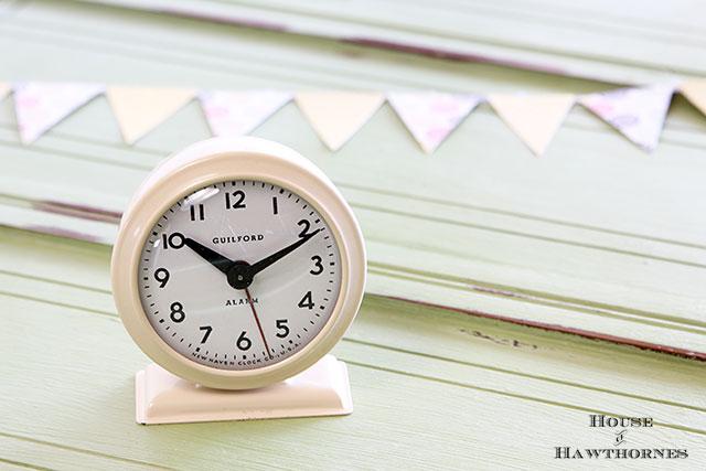 Vintage Guilford alarm clock
