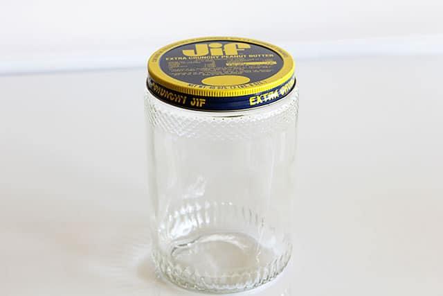 Vintage Jif Peanut Butter jar