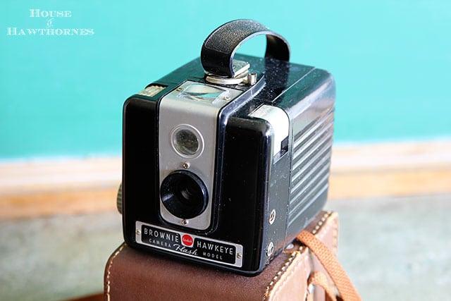 Vintage Brownie Hawkeye Camera