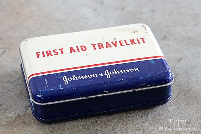 Johnson & Johnson First Aid Travel Kit