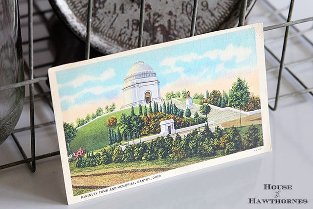 William McKinley tomb and memorial postcard - Canton, Ohio