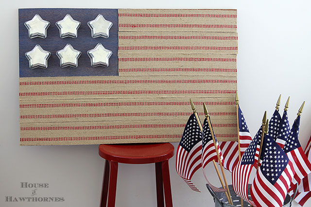 DIY Rustic Flag