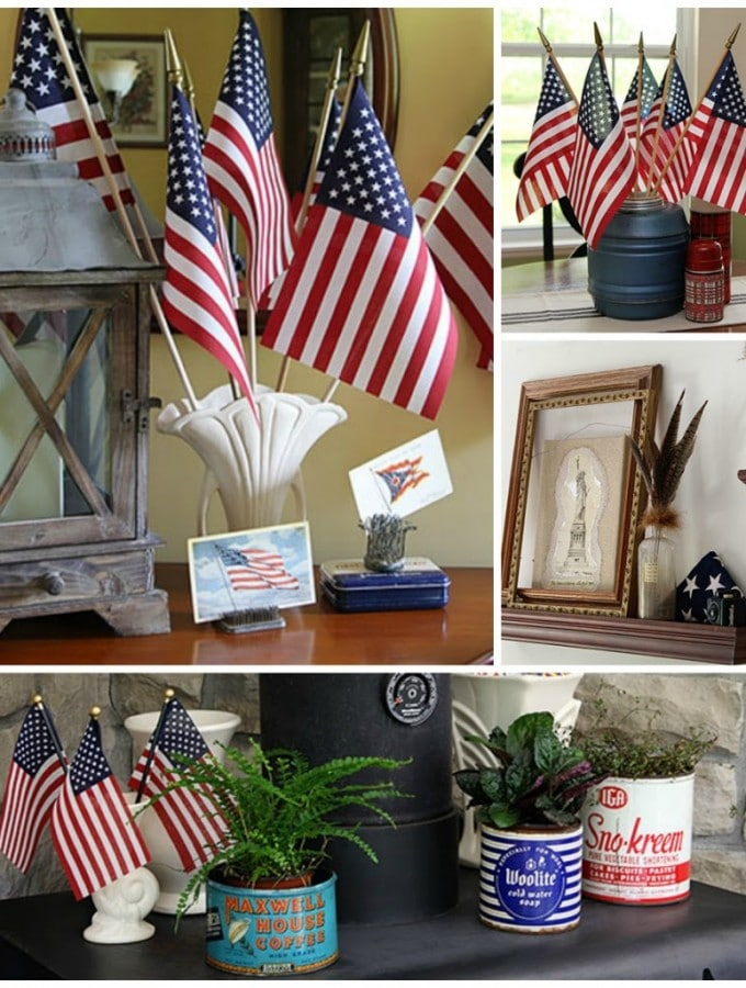 An Eclectic Patriotic House Tour