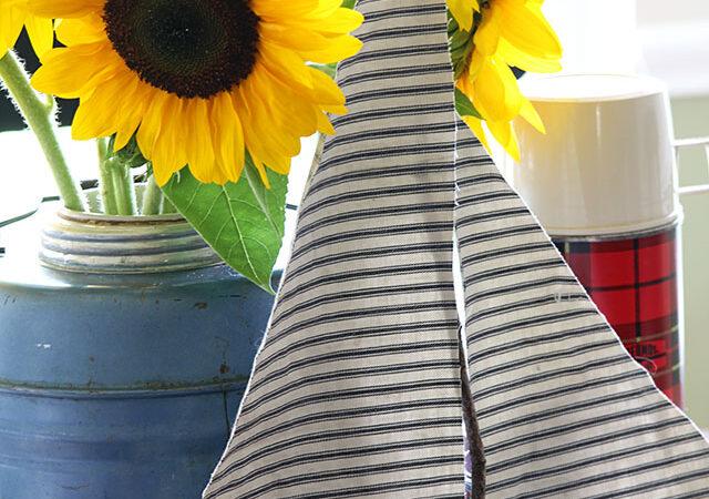 A Happy Little Sunflower Vignette