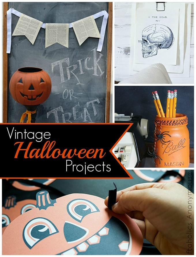 Vintage Inspired Halloween Projects