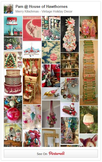 Merry Kitschmas Vintage Holiday Decor board on Pinterest
