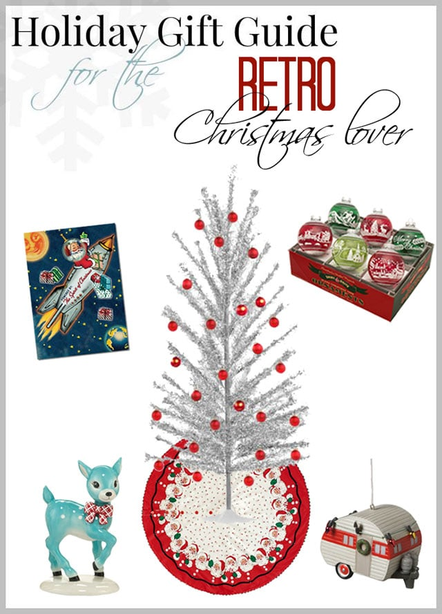 Holiday Gift Guide For The Retro Christmas Lover - House of Hawthornes