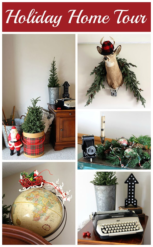 Holiday Home Decorating Ideas simple steps for holiday decorating a house tour A Holiday House Tour With Lots Of Christmas Decorating Ideas Including Many Vintage Christmas Decorations