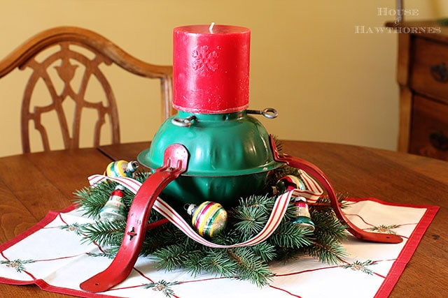 Christmas Tree Stand Candle Holder