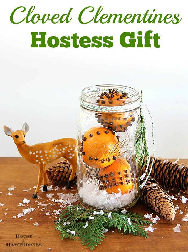 Cloved Clementines Hostess Gift