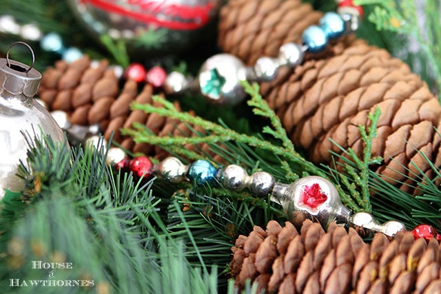 Decorating with vintage Christmas ornaments gives your home a sense of nostalgia and tradition, whether handed down from Grandma or simply bought at thrift stores.